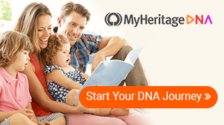 DNA MyHeritage Banner